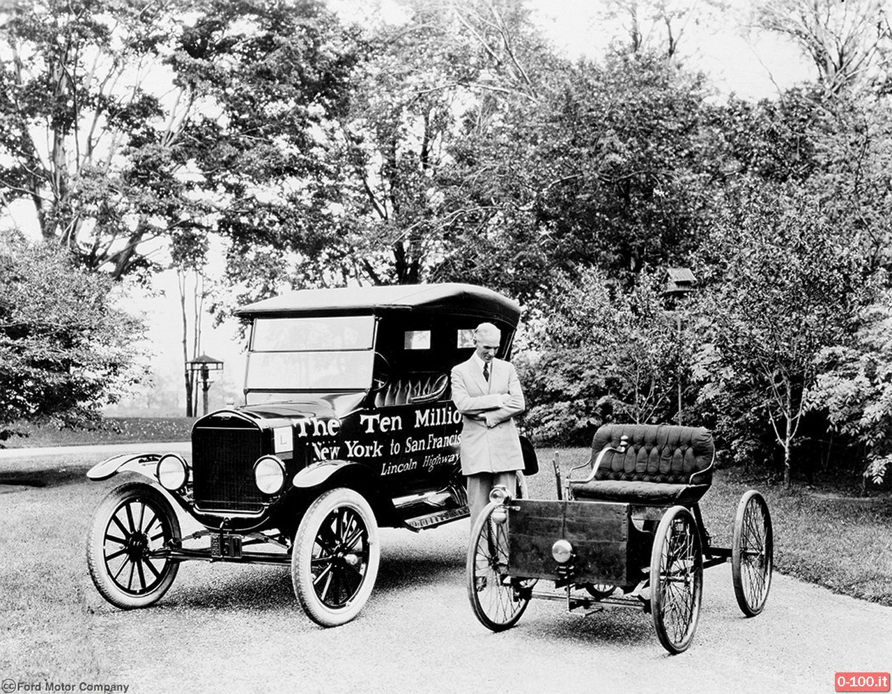 1924 Ford Model T 10 Millionth Car - Quadricycle