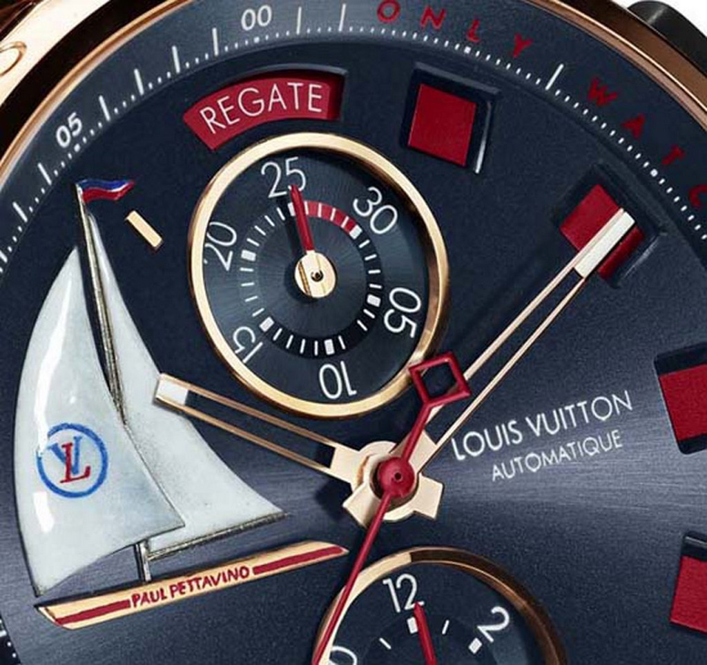 Louis Vuitton Tambour Spin Time Regetta designed for Only Watch 2013