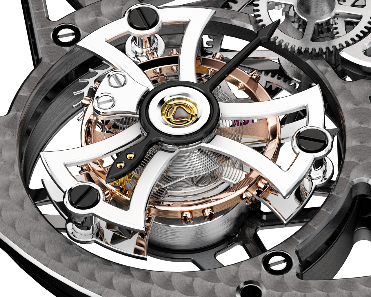 MANUFACTURE ROGER DUBUIS - Movement RD505SQ