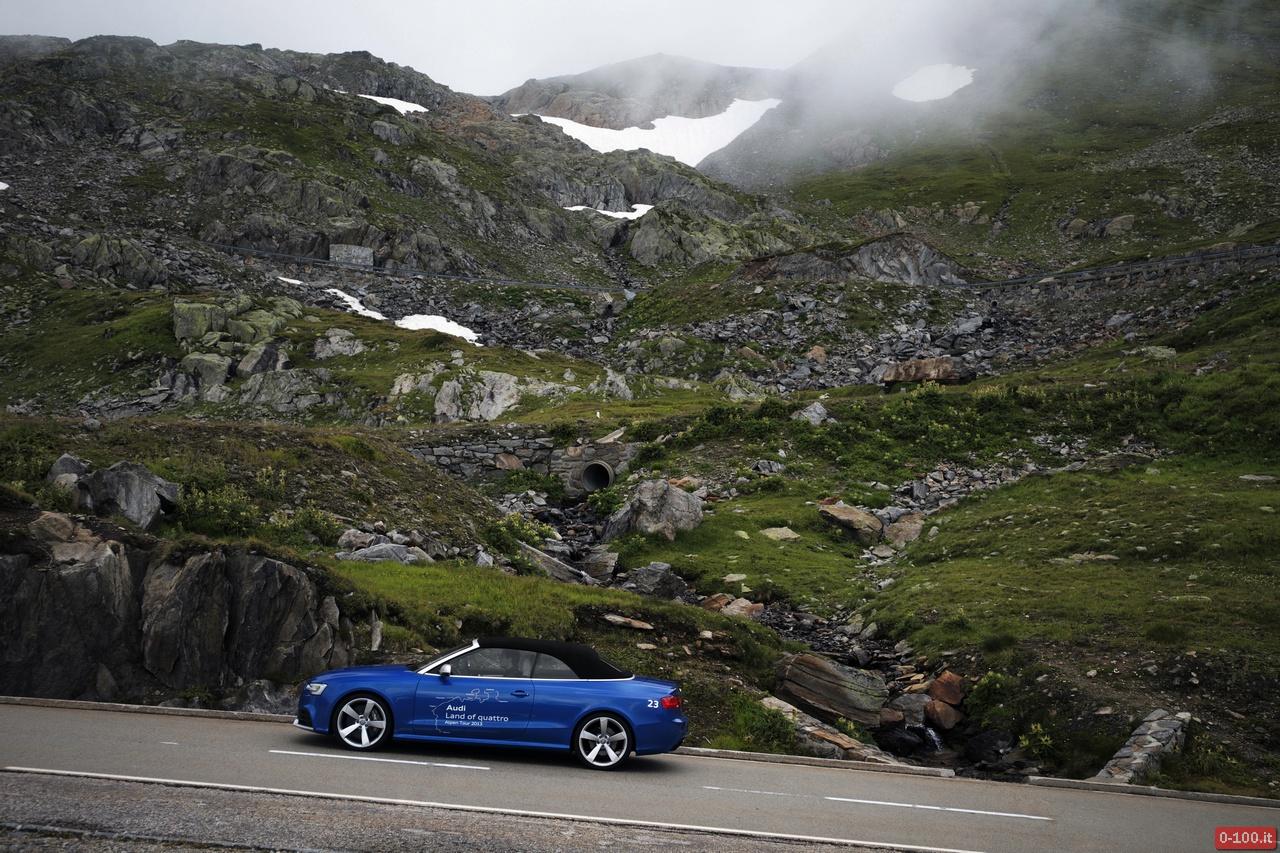 Audi Land of quattro Alpen Tour 2013