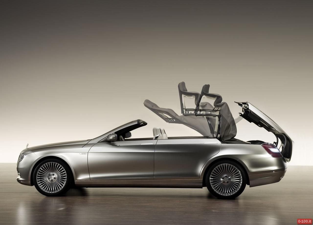 Mercedes S Class convertible