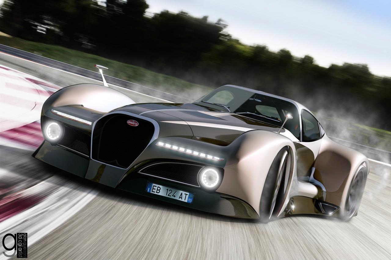 Bugatti 12.4 Atlantique Concept by Alan Guerzoni _100-100
