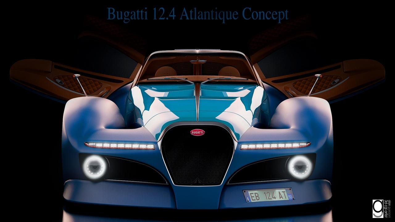 Bugatti 12.4 Atlantique Concept by Alan Guerzoni _110-100