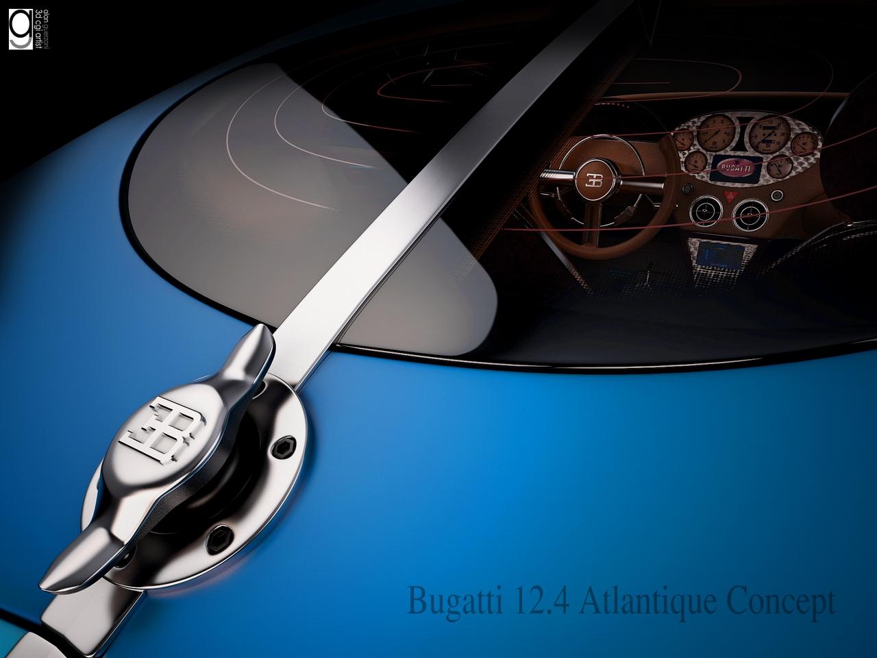 Bugatti 12.4 Atlantique Concept by Alan Guerzoni _120-100