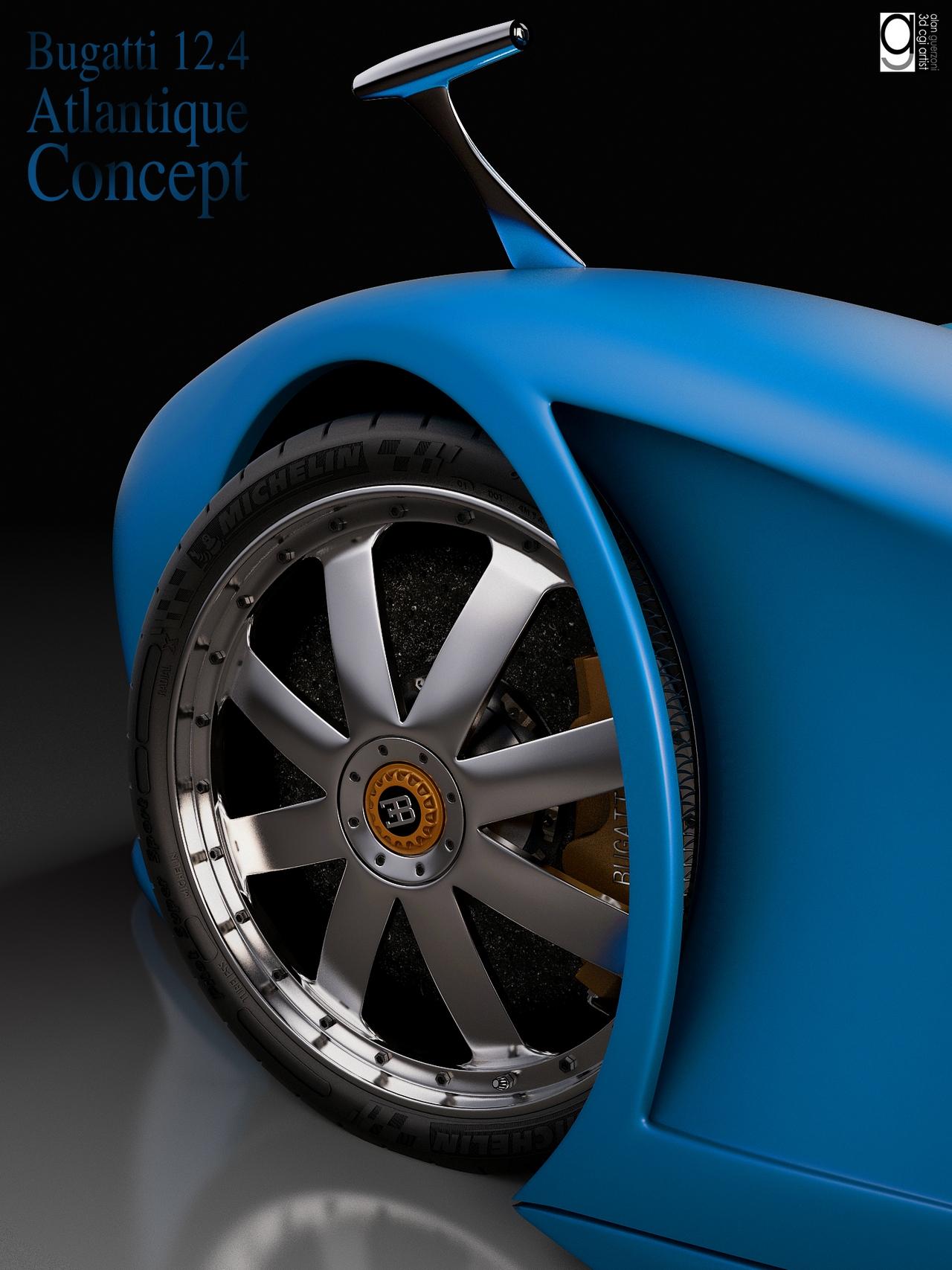 Bugatti 12.4 Atlantique Concept by Alan Guerzoni _130-100
