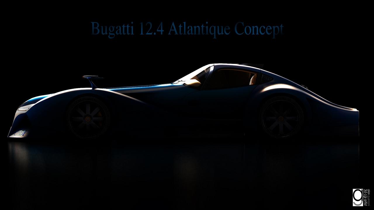Bugatti 12.4 Atlantique Concept by Alan Guerzoni _150-100