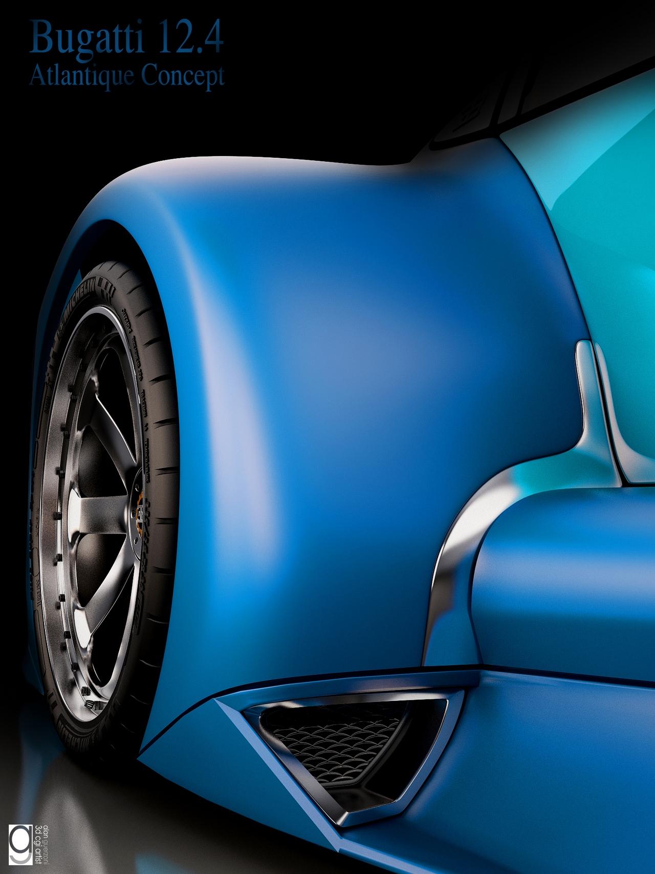 Bugatti 12.4 Atlantique Concept by Alan Guerzoni _160-100