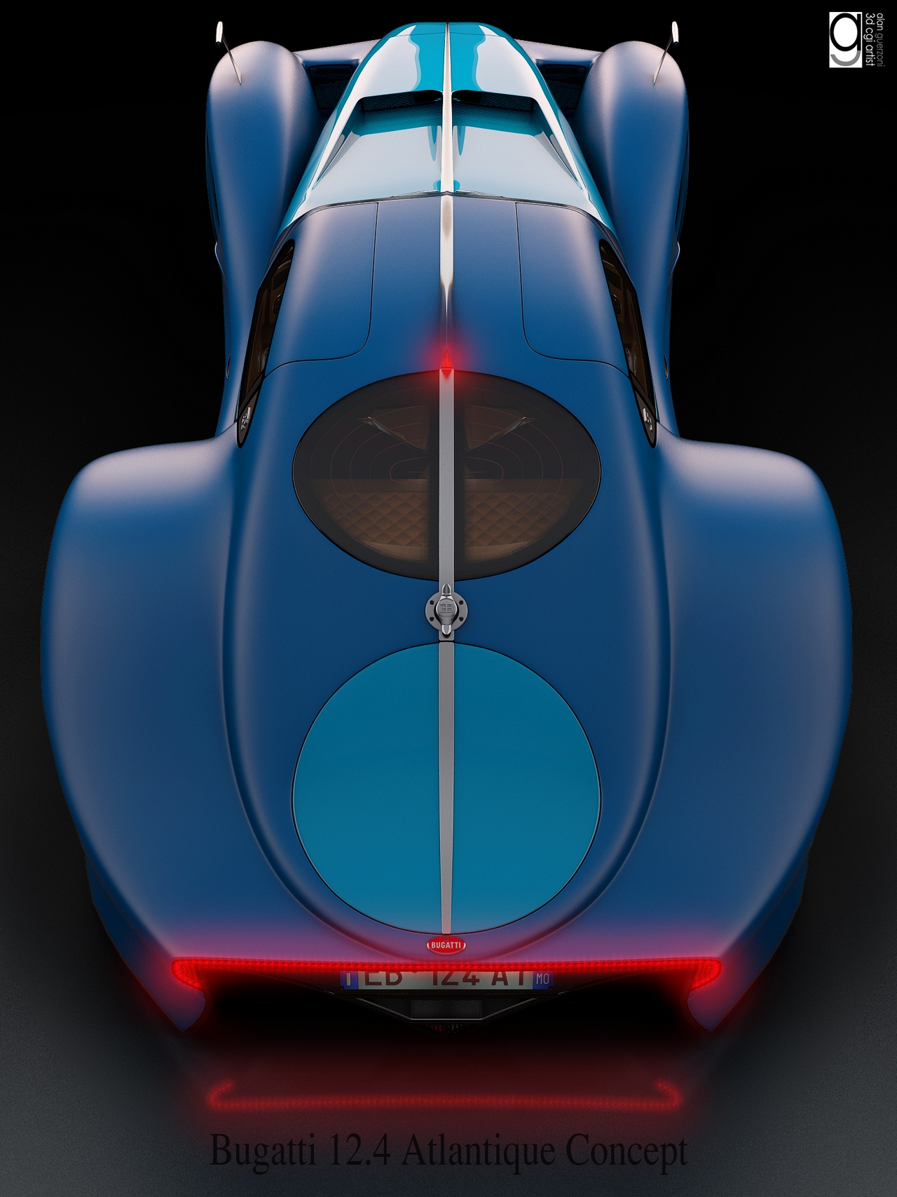 Bugatti 12.4 Atlantique Concept by Alan Guerzoni _170-100