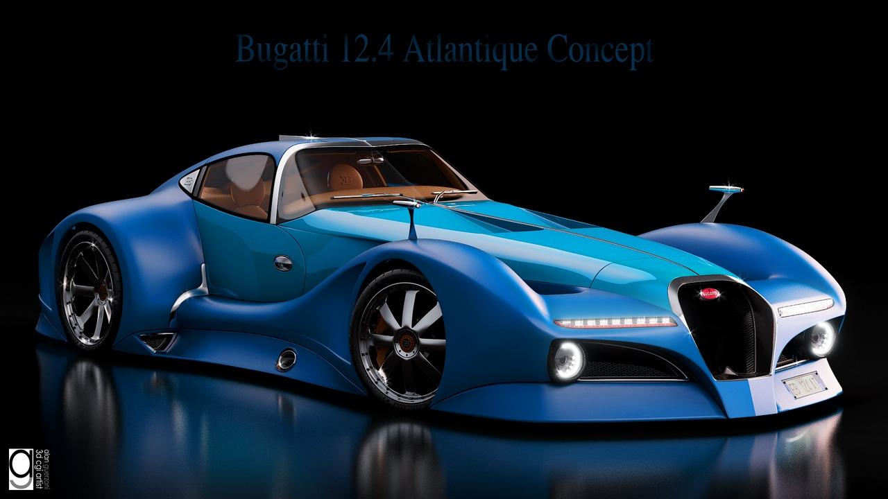 Bugatti 12.4 Atlantique Concept by Alan Guerzoni _180-100