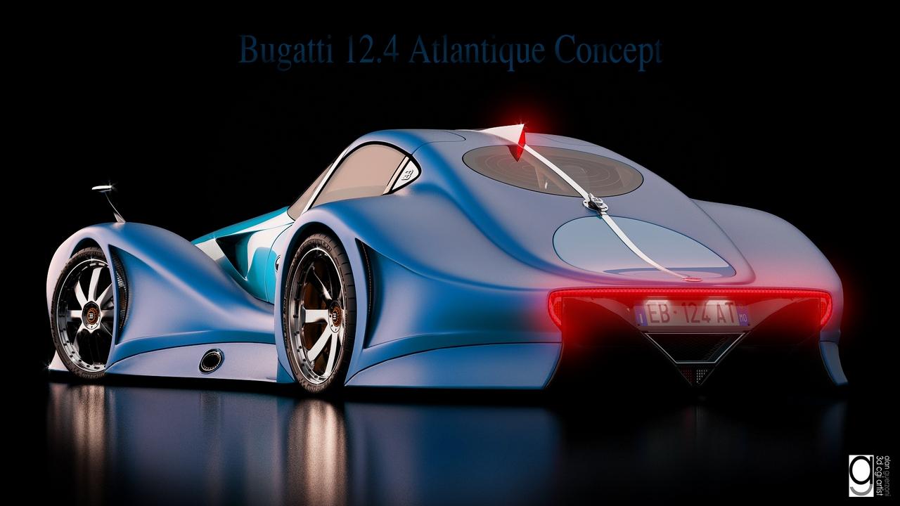 Bugatti 12.4 Atlantique Concept by Alan Guerzoni _190-100