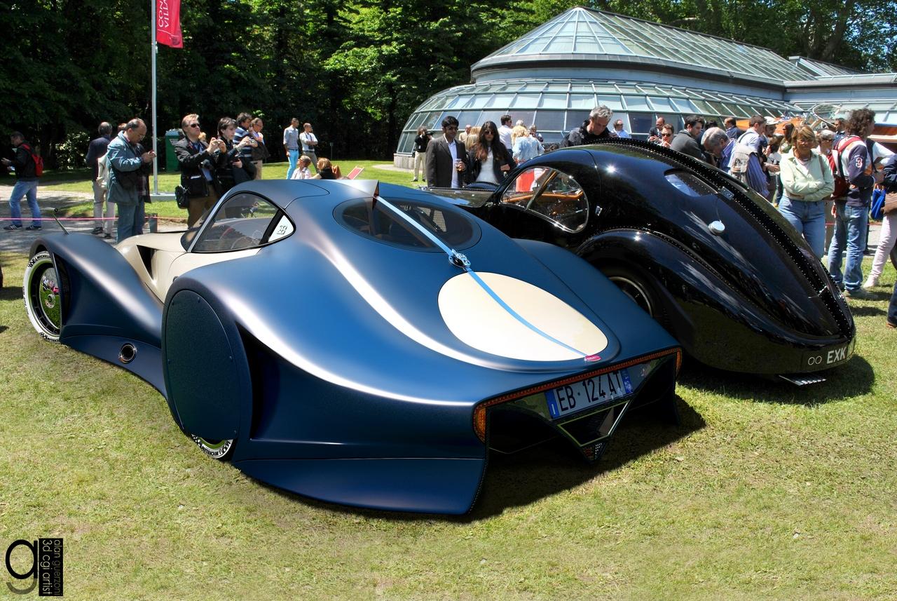 Bugatti 12.4 Atlantique Concept by Alan Guerzoni _20-100