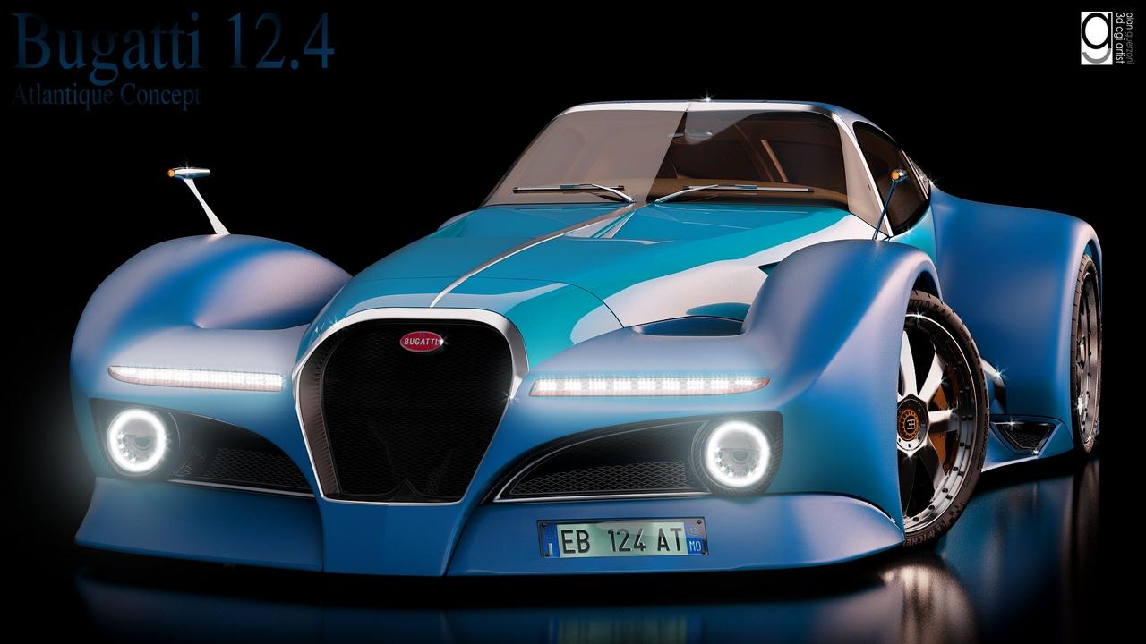 Bugatti 12.4 Atlantique Concept by Alan Guerzoni _200-100