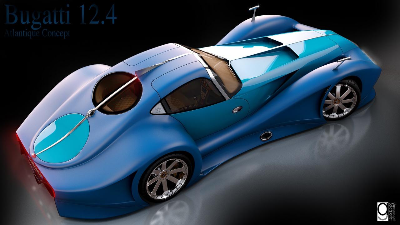 Bugatti 12.4 Atlantique Concept by Alan Guerzoni _210-100