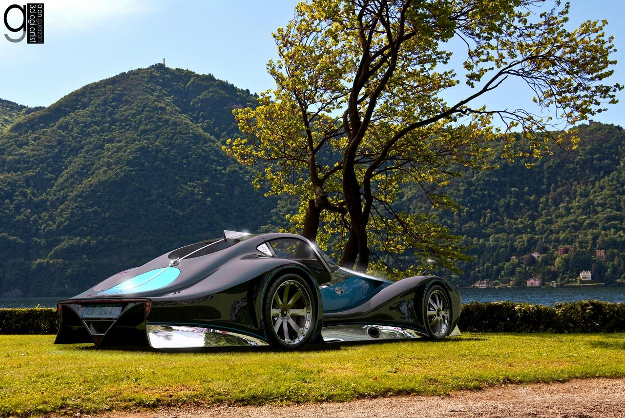 Bugatti 12.4 Atlantique Concept by Alan Guerzoni _60-100