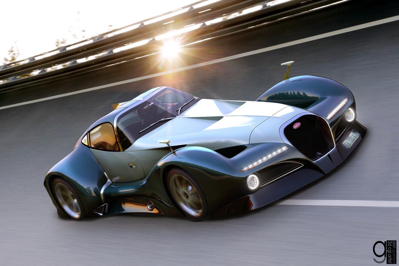 Bugatti 12.4 Atlantique Concept by Alan Guerzoni _70-100