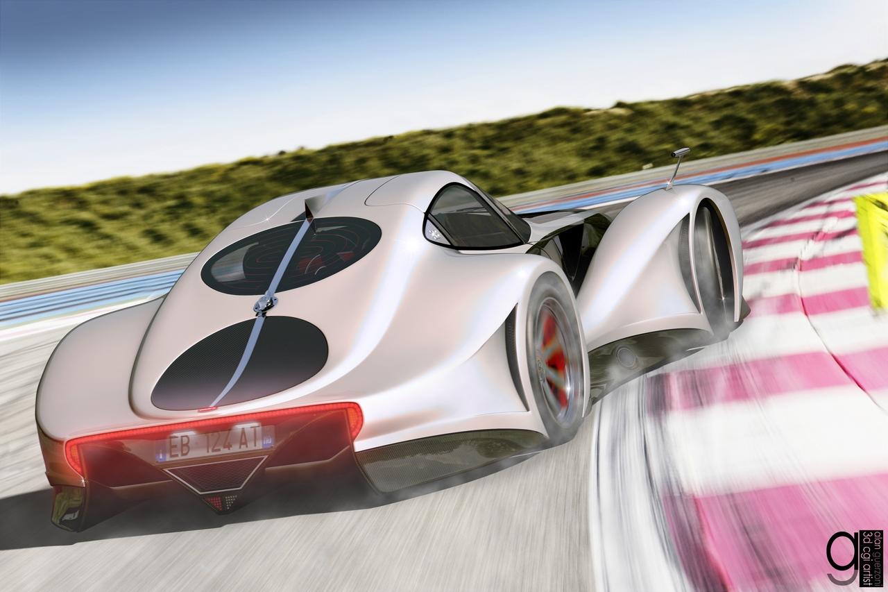Bugatti 12.4 Atlantique Concept by Alan Guerzoni _90-100