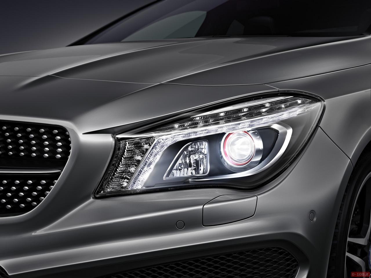 Mercedes-Benz CLA Intelligent Light System 2013