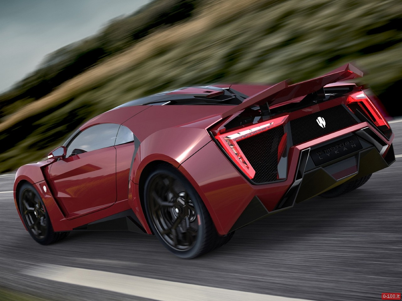 Lykan HyperSport Ruby Garnet