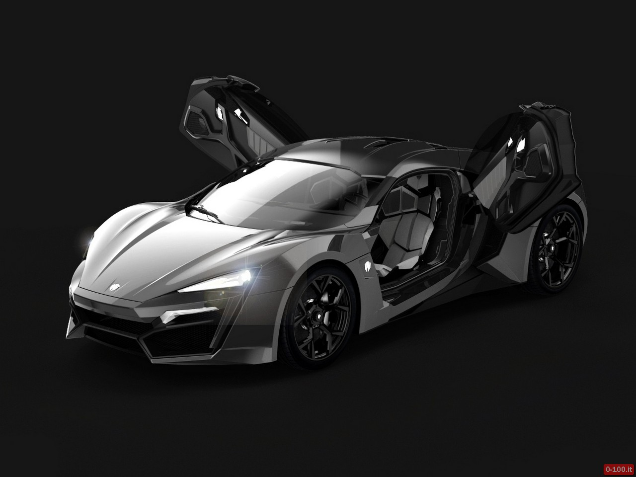Lykan HyperSport 2014_Wolf Grey OpenDoor