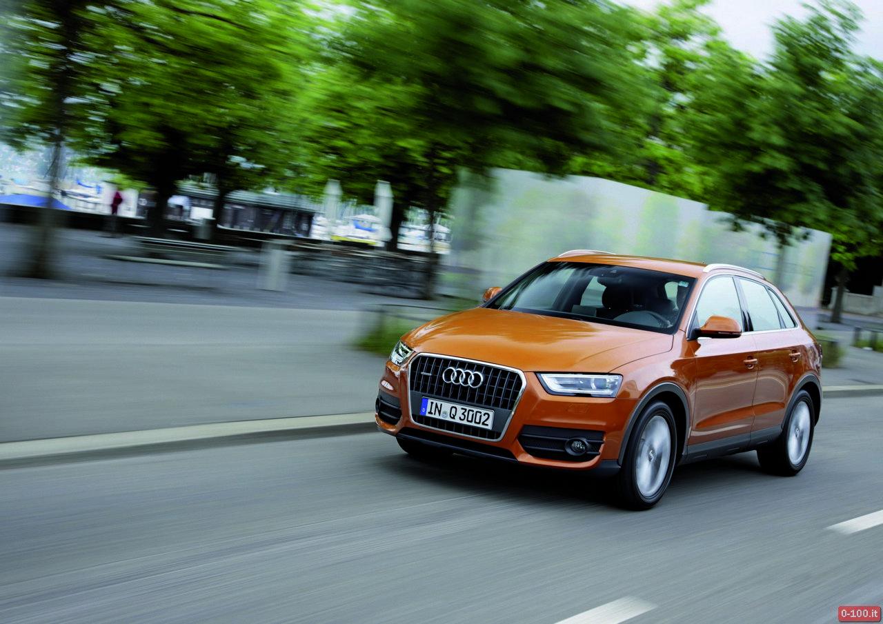 Audi Q3 quattro /Fahraufnahme