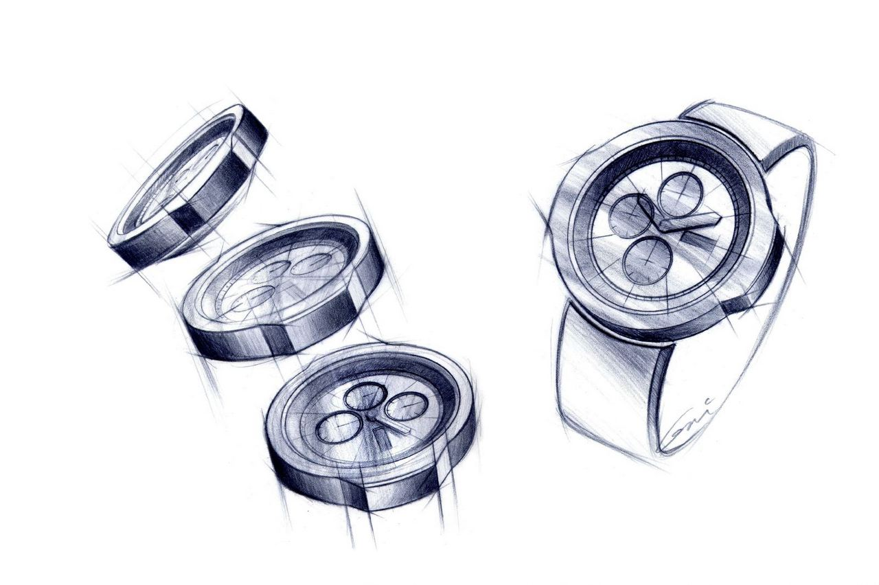 Salone del Mobile 2013: Ford Watch sketch