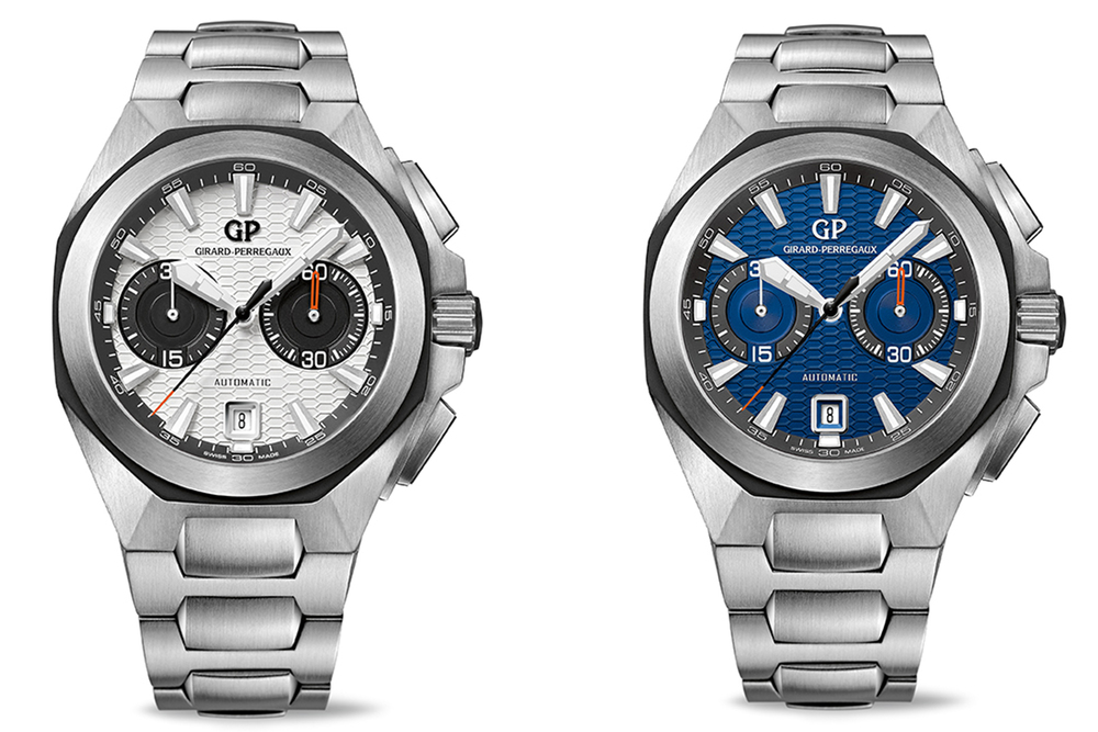 Anteprima SIHH 2014_Girard-Perregaux New Chrono Hawk Steel Bracelet_0-100_1