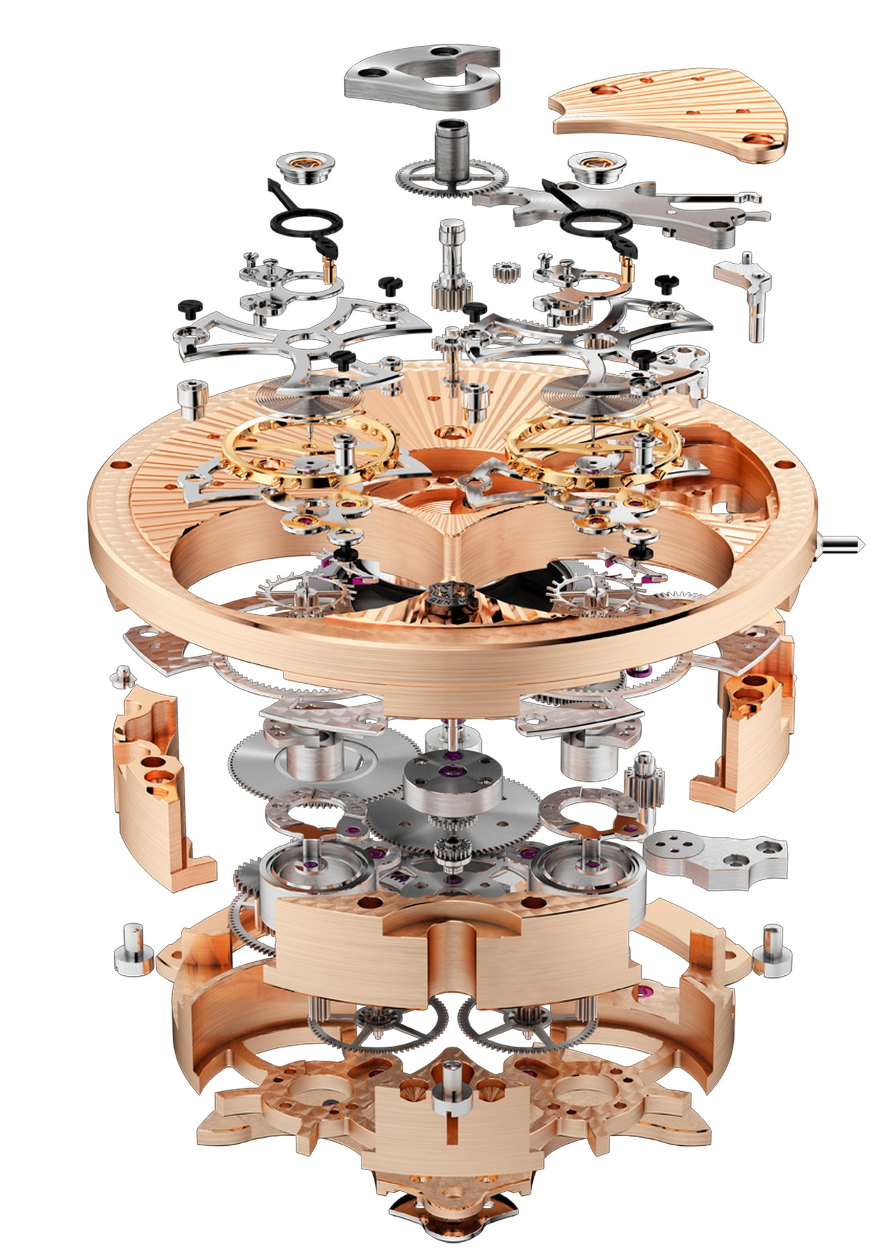 MANUFACTURE ROGER DUBUIS - Movement RD100