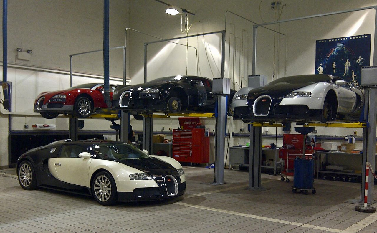 Bugatti lancia il programma di qualit bugatti certified for Garage bello automobiles sartrouville