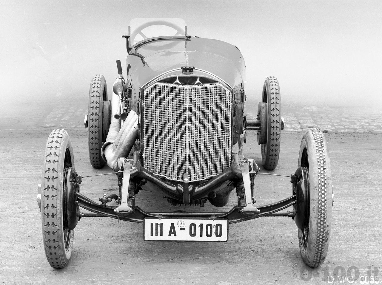 Mercedes 2-Liter-Targa-Florio-Rennwagen, 1924