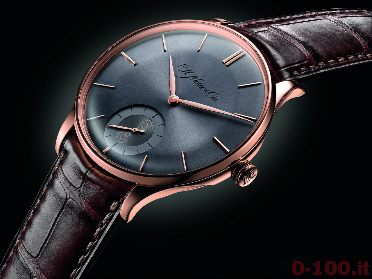 Baselworld-2014-H. Moser & Cie Venturer Small Seconds _0-1009
