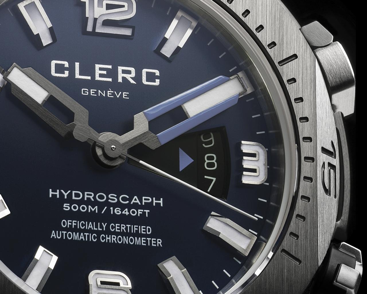 Clerc Hydrosdfgfgcaph H1 Chronometer ref.H1-1.B.3