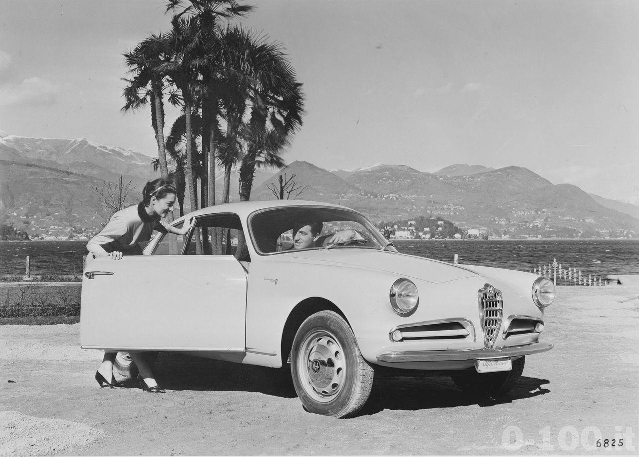 """Giulietta Sprint 1954 """"© Alfa Romeo Automobilismo Storico, Centro Documentazione Arese, Milano"""