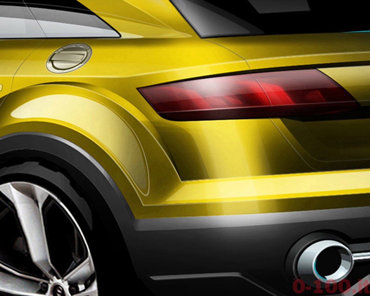 Audi praesentiert die Studie auf der Peking Motor Show 2014.