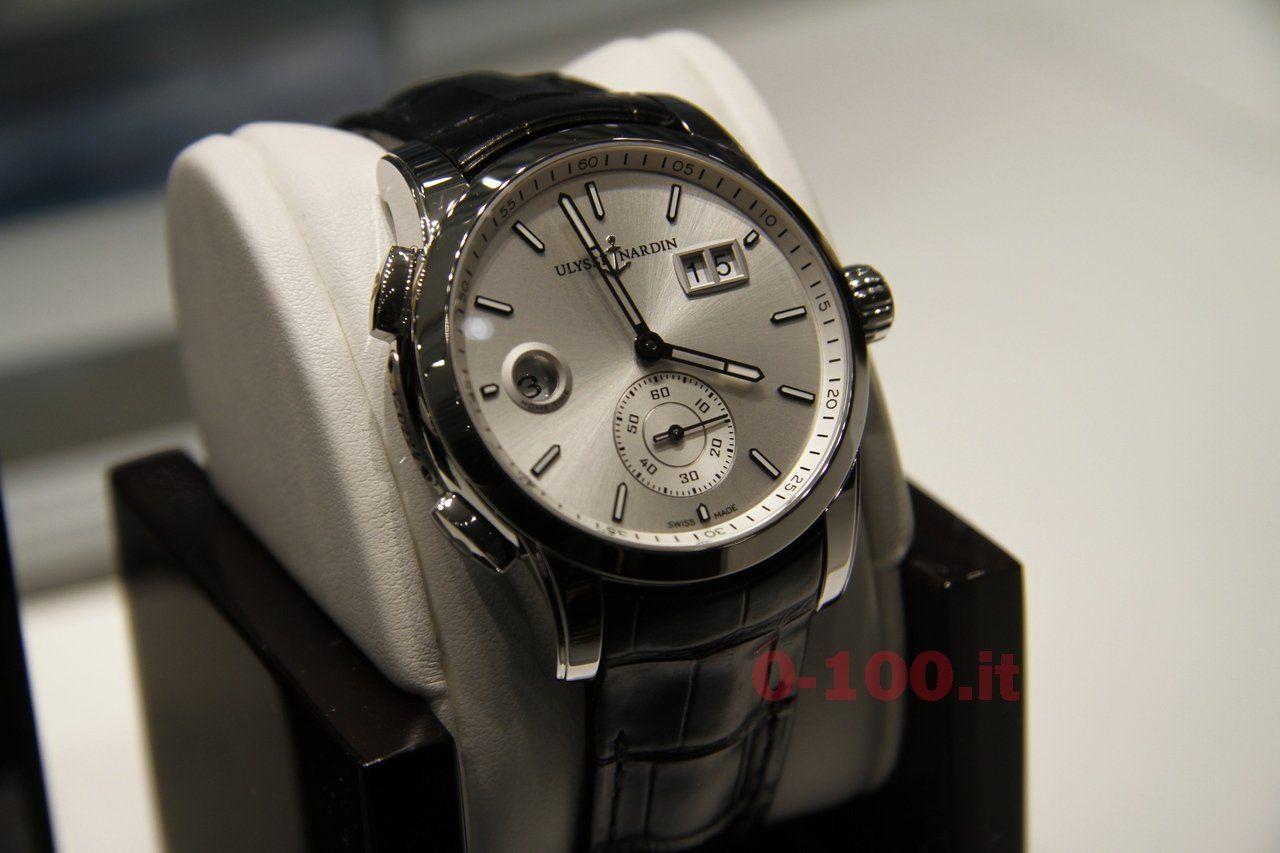 baselworld-2014-Ulysse Nardin Dual Time Manufacture_Ref_3346-126-91_0-1001