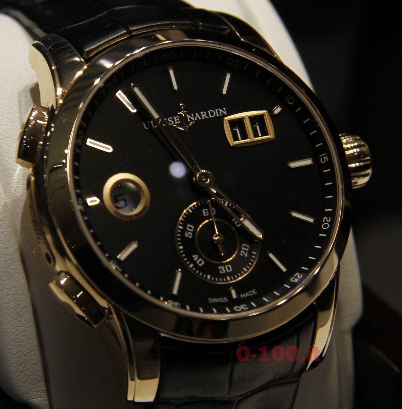 baselworld-2014-Ulysse Nardin Dual Time Manufacture_Ref_3346-126-91_0-1009