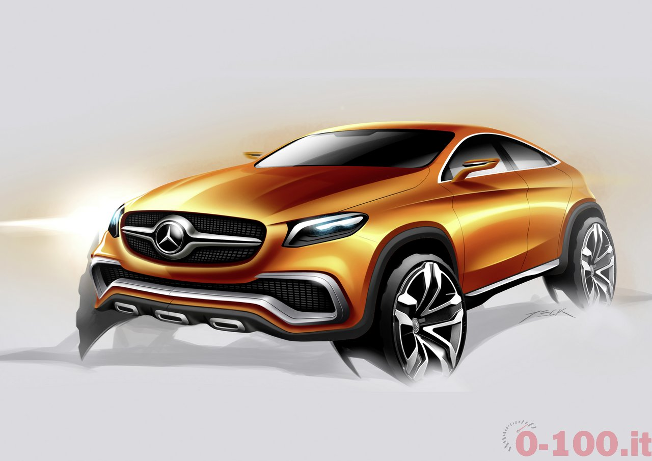 Mercedes-Benz Concept Coupé SUV, 2014