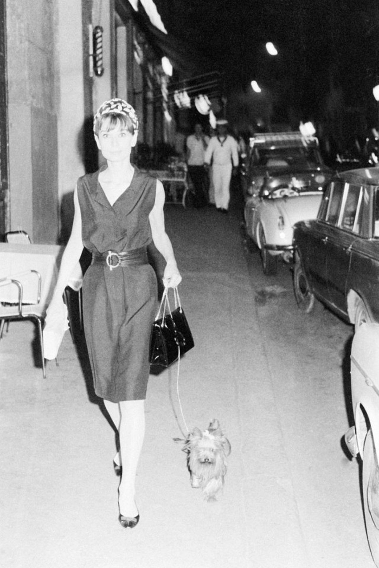 Audrey Hepburn, Rome, 1961