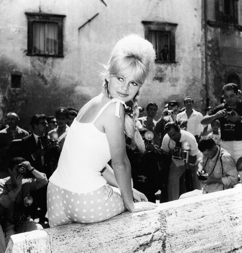 Brigitte Bardot in Spoleto, June 1961