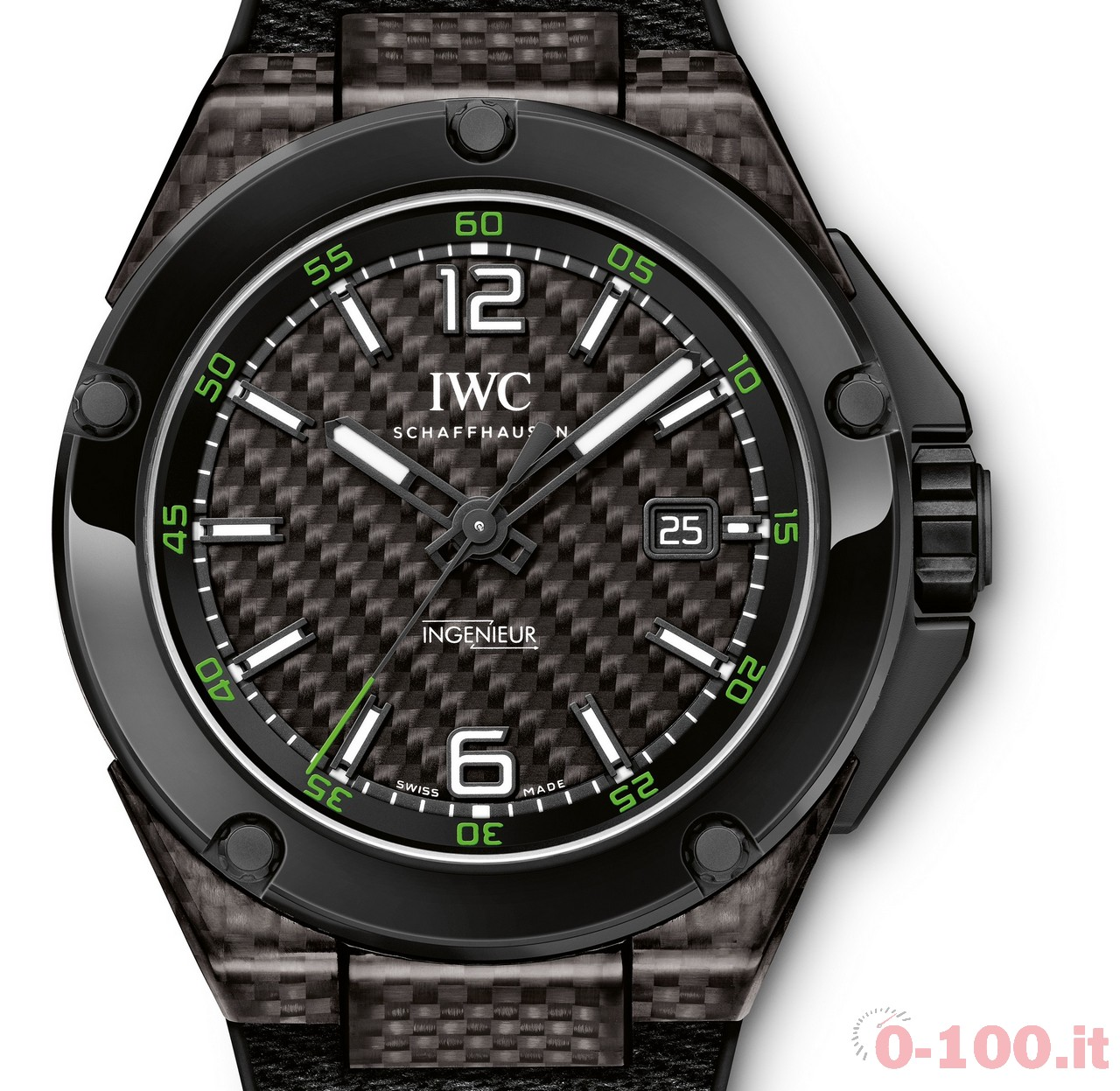 Iwc Ingenieur Automatic Carbon Performance Ceramica Ref ...