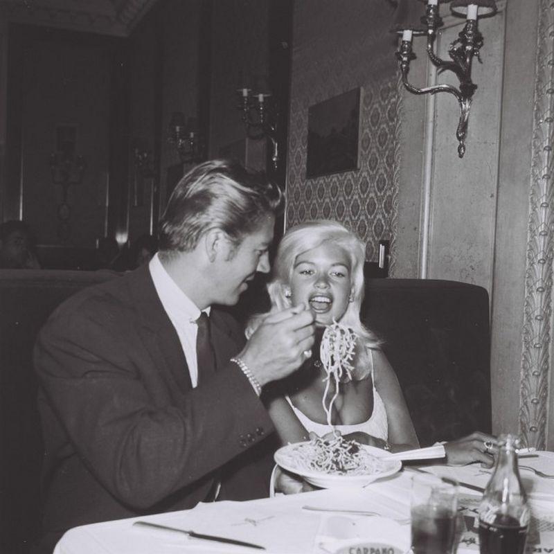 Jane Mansfield e Mike Hargitay, Roma, Settembre 1960,