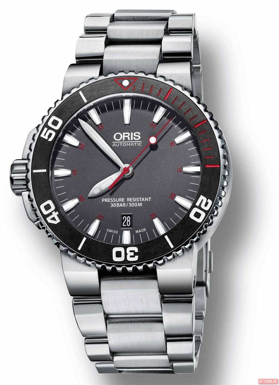 01 733 7653 4183-Set MB - Oris Aquis Red Limited Edition