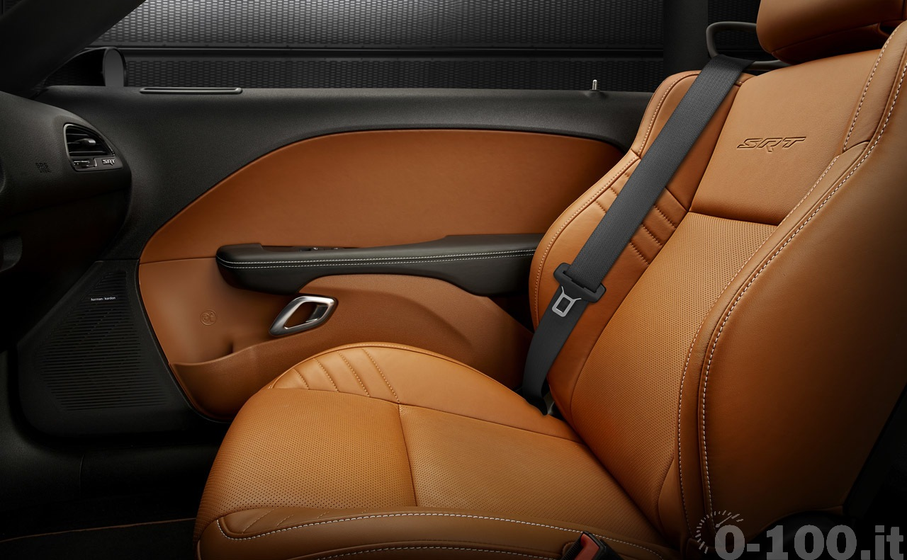 2015 Dodge Challenger SRT Premium Sepia Laguna Leather