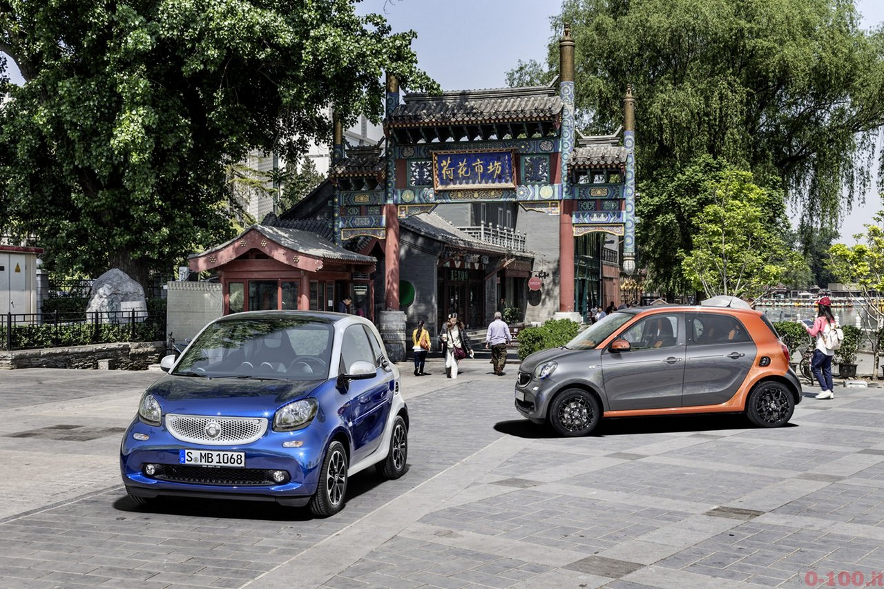 Der neue smart fortwo und forfour, 2014 The new smart fortwo and