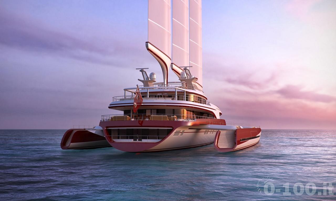 Dragonship 80 Trimaran by Pi Yachts - 0-100.it