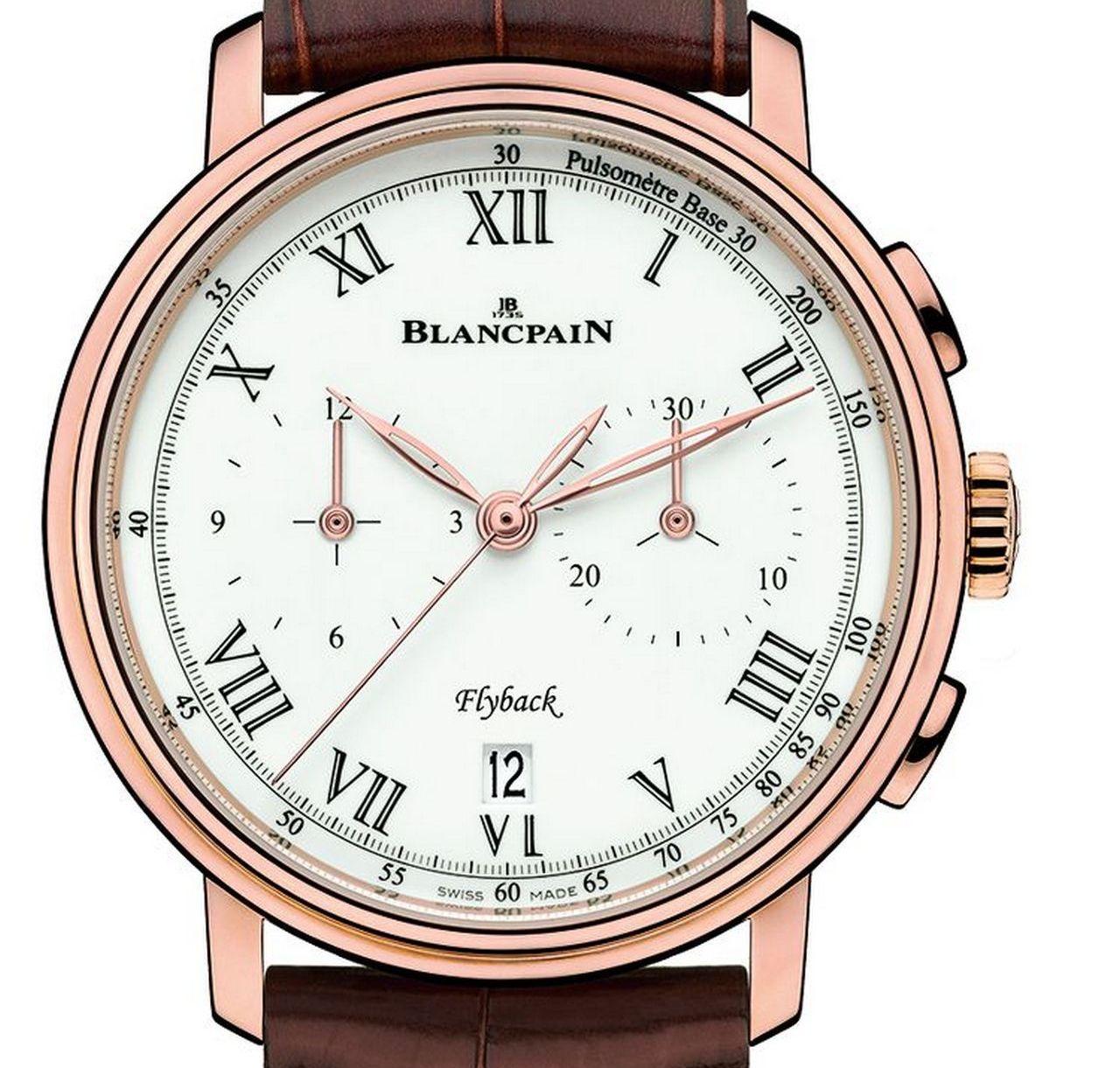 Blancpain Villeret Pulsometer Flyback Chronograph Ref 6680F-3631-55B prezzo price