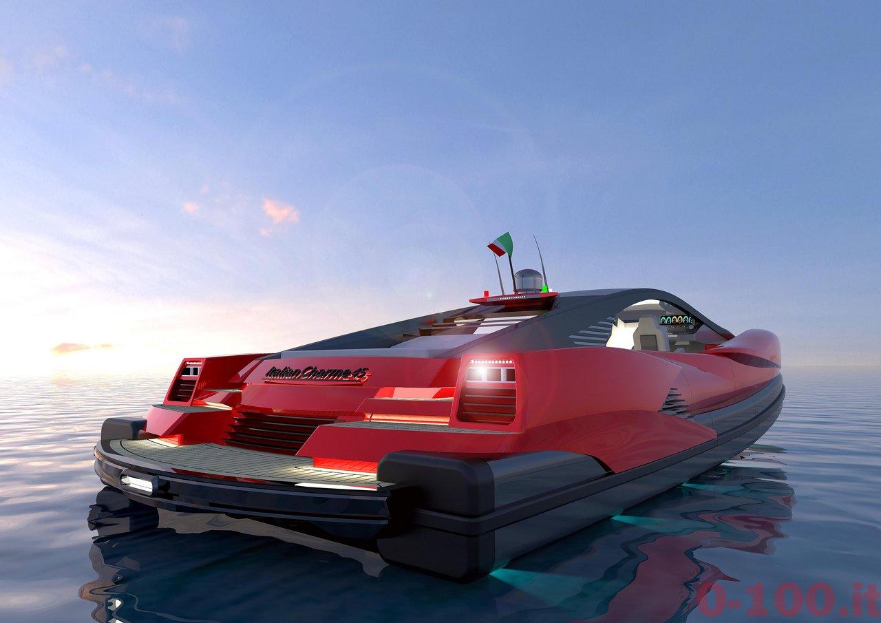 Italian Charme 45 by Studio Pannone Architetti yacht luxury tender rib-0-100_3