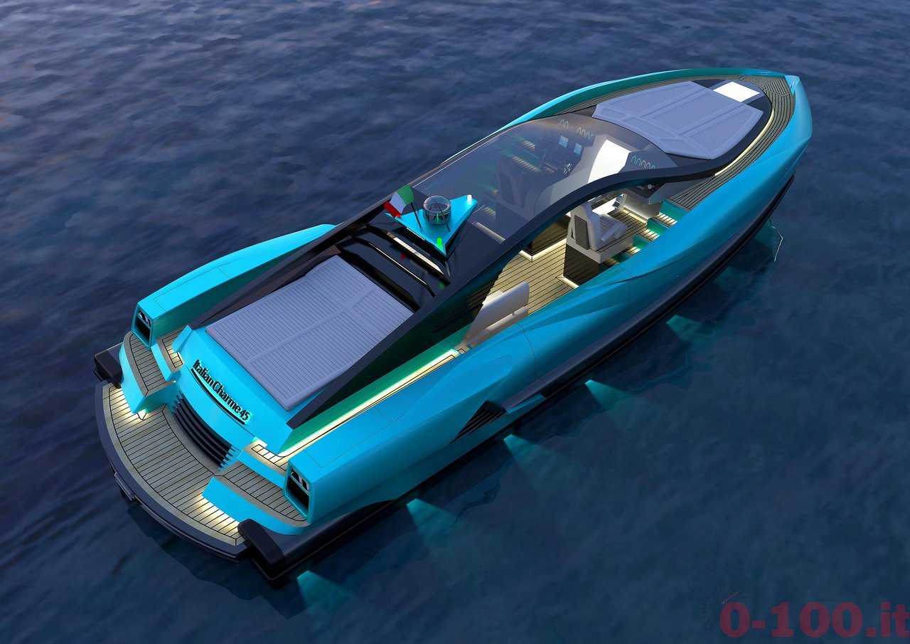 Italian Charme 45 by Studio Pannone Architetti yacht luxury tender rib-0-100_9
