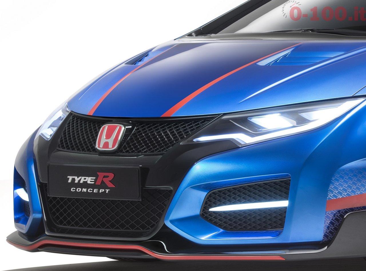 Honda Civic Type-R Concept Photograph: James Lipman +44 7803 885275
