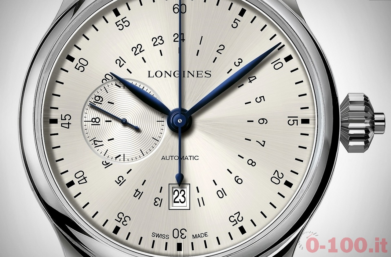 LONGINES ? HERITAGE Twenty-Four Hours Single Push-Piece Chronograph