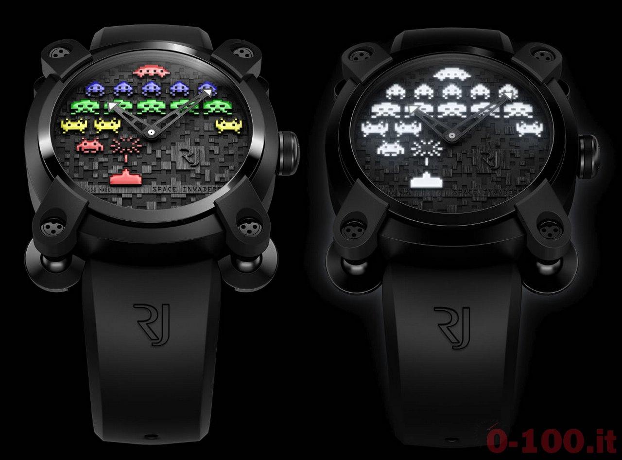 RJ-Romain Jerome Space Invaders 40 Next level Limited Edition Ref. RJ.M.AU.IN.021.02, Ref. RJ.M.AU.IN.021.01 prezzo price-0-100_1